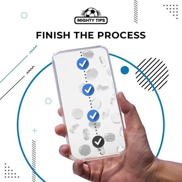finish the process