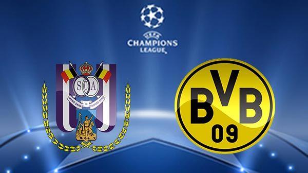 Borussia Dortmund vs Anderlecht