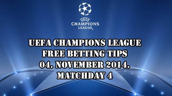 Champions League Betting Tips 04.11.2014.