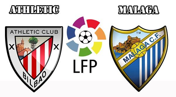 Assistir Málaga x Athletic Bilbao ao vivo 02/10/2016