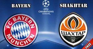 Bayern Munich vs Shakhtar Prediction and Betting Tips
