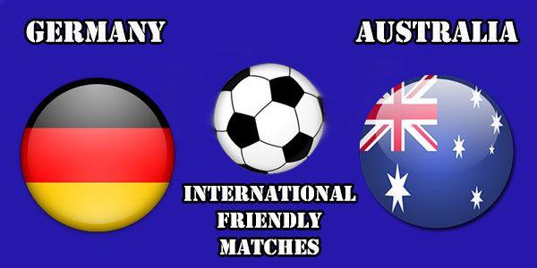 Germany vs Australia Prediction and Betting Tips