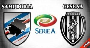Sampdoria vs Cesena Prediction and Betting Tips