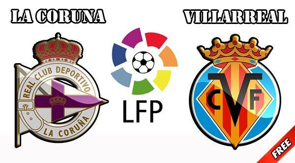 Deportivo La Coruna vs Villarreal Prediction