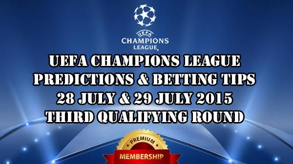 Champions League Prediction 28.07.-29.07.2015.