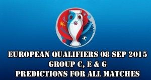 EURO 2016 Qualifiers Predictions and Betting Tips 08.09.2015.