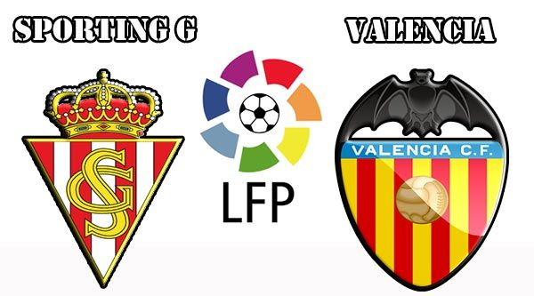 Assistir  Sporting Gijón vs Valencia ao vivo 16/10/2016