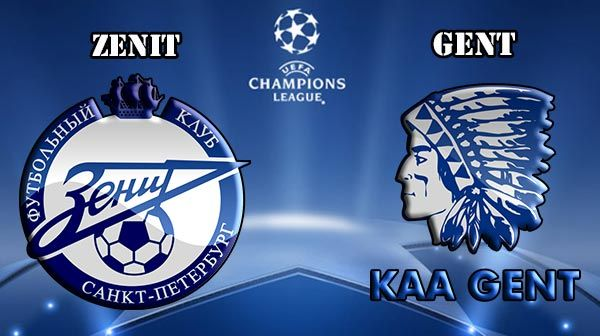 Zenit vs Gent Prediction and Betting Tips
