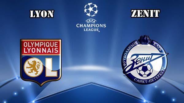Lyon vs Zenit Prediction and Betting Tips