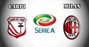 Carpi vs Milan Prediction and Betting Tips