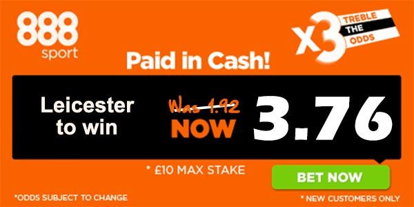 Leicester vs Bournemouth Bet