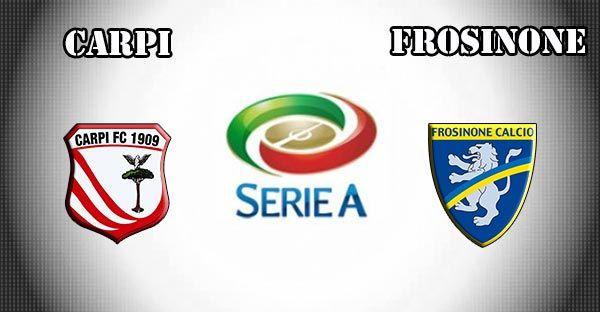 Carpi vs Frosinone Prediction and Betting Tips