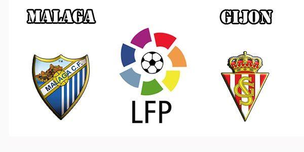 Resultado de imagem para Málaga vs Sporting Gijón