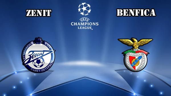 Zenit vs Benfica Prediction and Betting Tips