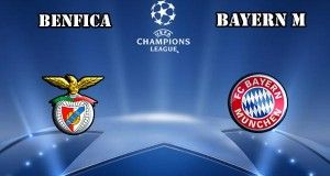 Benfica vs Bayern Munich Prediction and Betting Tips