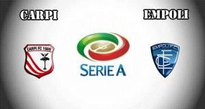 Carpi vs Empoli Prediction and Betting Tips