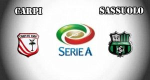 Carpi vs Sassuolo Prediction and Betting Tips