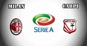 Milan vs Carpi Prediction and Betting Tips