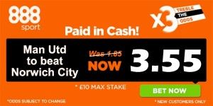 Norwich vs Manchester United Prediction and Bet