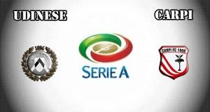 Udinese vs Carpi Prediction and Betting Tips