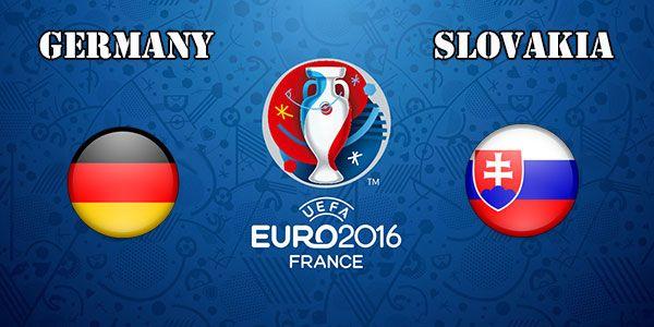 Germany vs Slovakia Prediction and Betting Tips