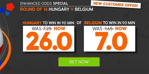 Hungary vs Belgium Prediction and Bet EURO 2016