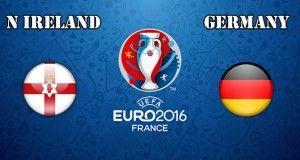 Northern Ireland vs Germany Prediction and Betting Tips EURO 2016