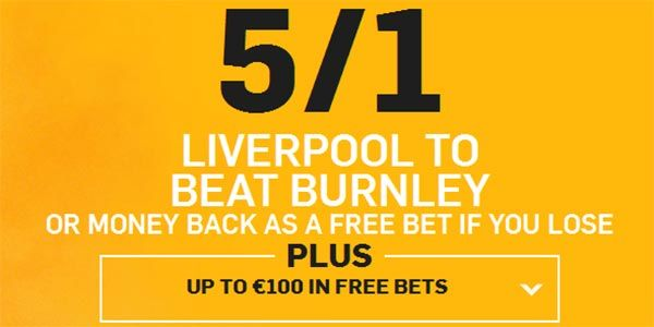 Burnley vs Liverpool Prediction and Bet