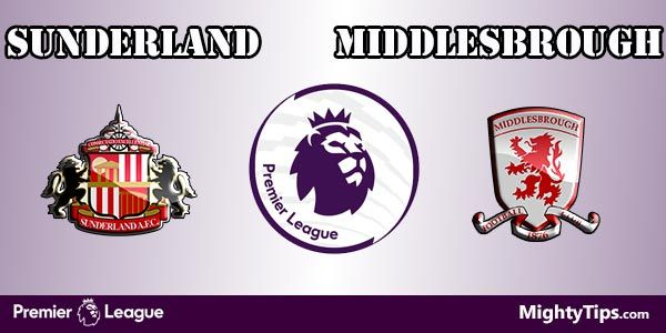 Sunderland vs Middlesbrough Prediction and Betting Tips