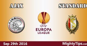 Ajax vs Standard Prediction and Betting Tips