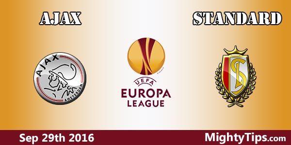 Ajax vs Standard Prediction and Betting Tips