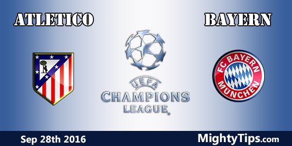 Atletico vs Bayern Prediction and Betting Tips