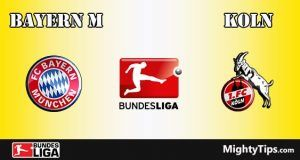 Bayern vs Koln Prediction and Betting Tips