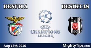 Benfica vs Besiktas Prediction and Betting Tips