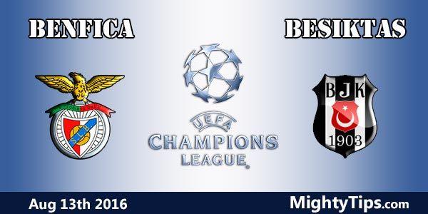 Resultado de imagem para Benfica x Besiktas