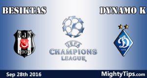 Besiktas vs Dynamo Kyiv Prediction and Betting Tips