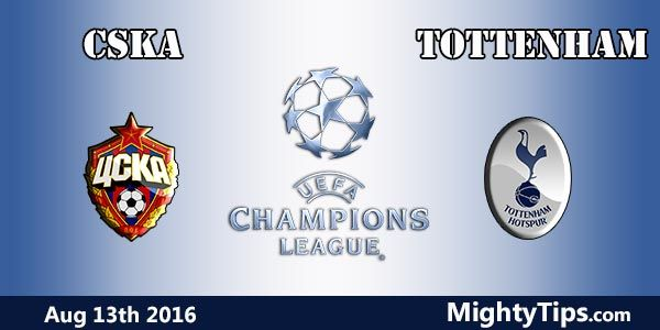 CSKA Moscow vs Tottenham Prediction and Betting Tips