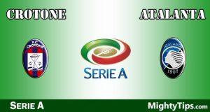 Crotone vs Atalanta Prediction and Betting Tips