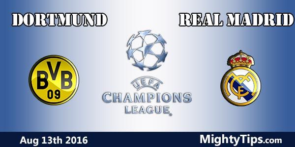 Dortmund vs Real Madrid Prediction and Betting Tips