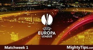 Europa League Predictions Matchweek 1