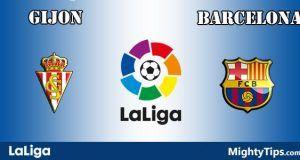Gijon vs Barcelona Prediction and Betting Tips