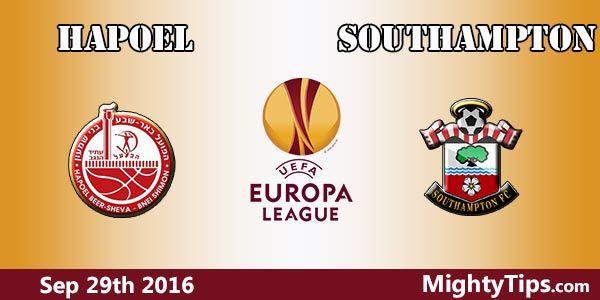 Hapoel vs Southampton Prediction and Betting Tips