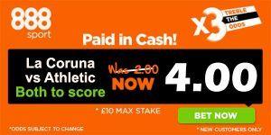 La Coruna vs Athletic Prediction and Bet
