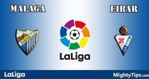Malaga vs Eibar Prediction and Betting Tips