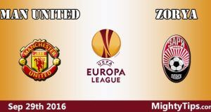 Manchester United vs Zorya Predictions and Betting Tips