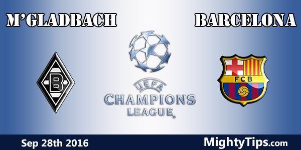 Monchengladbach vs Barcelona Prediction and Betting Tips