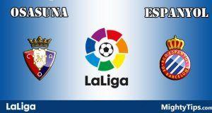 Osasuna vs Espanyol Prediction and Betting Tips