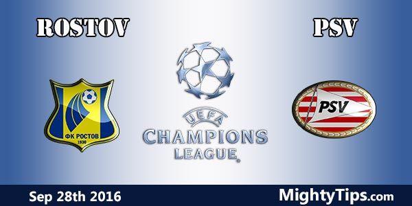 Rostov vs PSV Prediction and Betting Tips