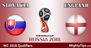 Slovakia vs England Prediction and Betting Tips