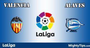 Valencia vs Alaves Prediction and Betting Tips